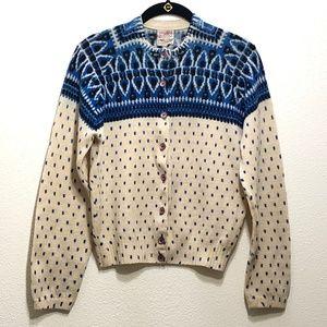 Vtg Wool Cardigan Sweater MP Shaglander by Darlene